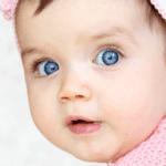 olhinhos do bebê mudam de cor