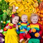 filho gostar de frutas e legumes